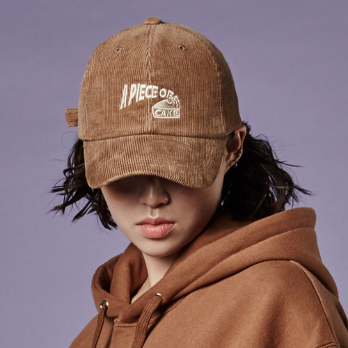 16 Corduroy Logo Cap_Brown