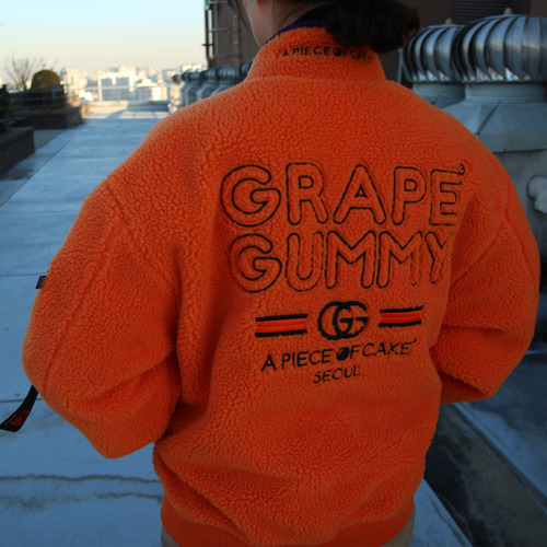 Grape-Gummy Reversible MA-1_Orange/Purple