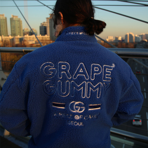Grape-Gummy Reversible MA-1_Blue/Gray