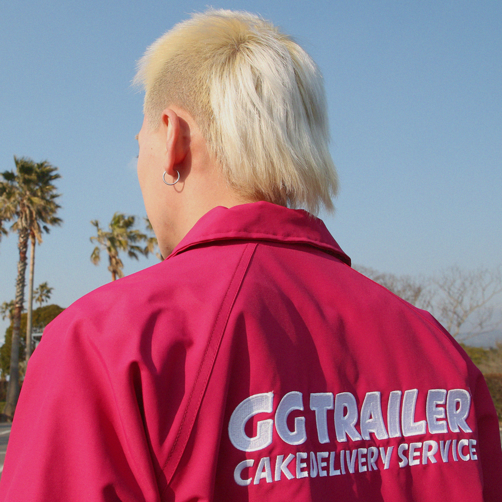 GG Trailer Coach Jacket_Magenta