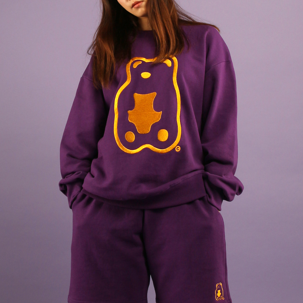 Grapegummy Crewneck_Purple