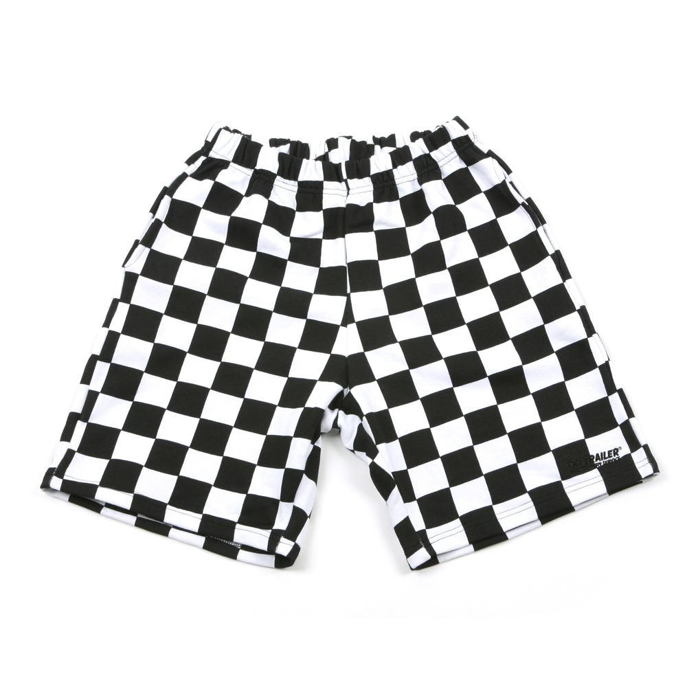 GG Trailer Checkerboard 1/2 Pants_White