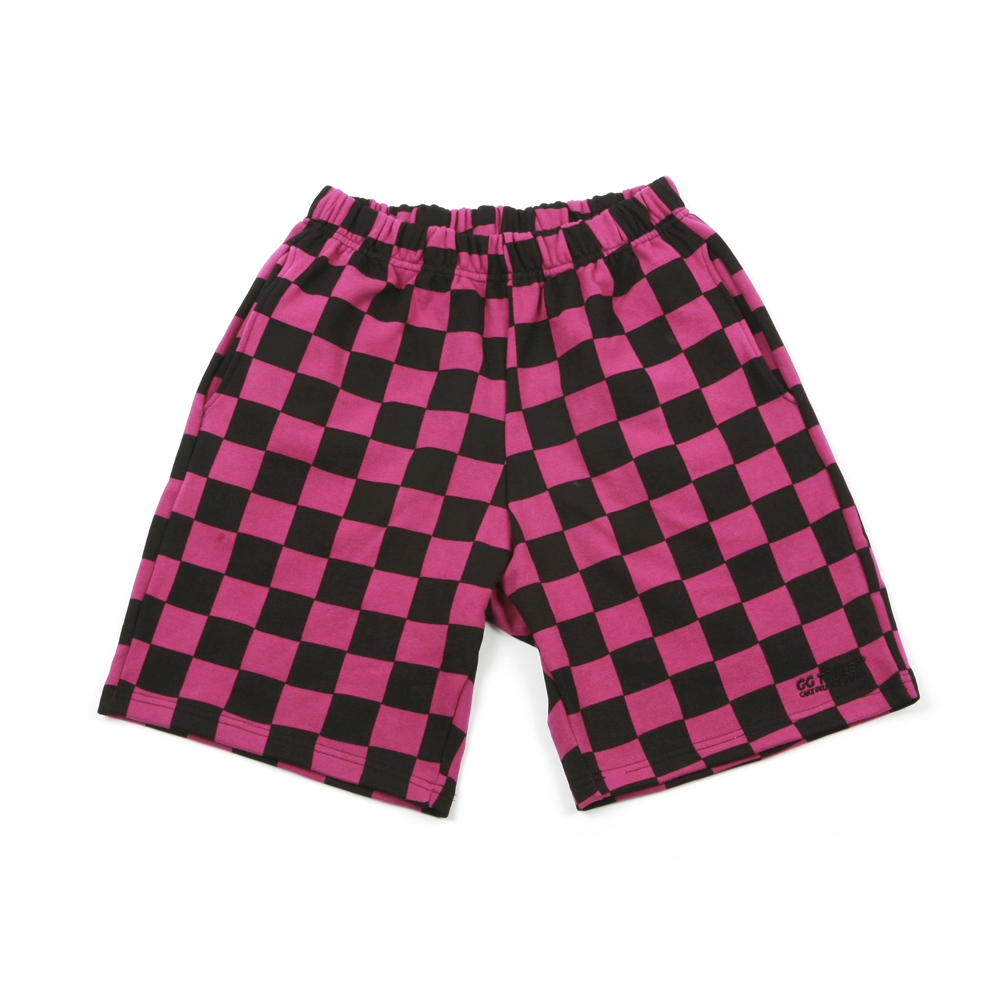 GG Trailer Checkerboard 1/2 Pants_Purple