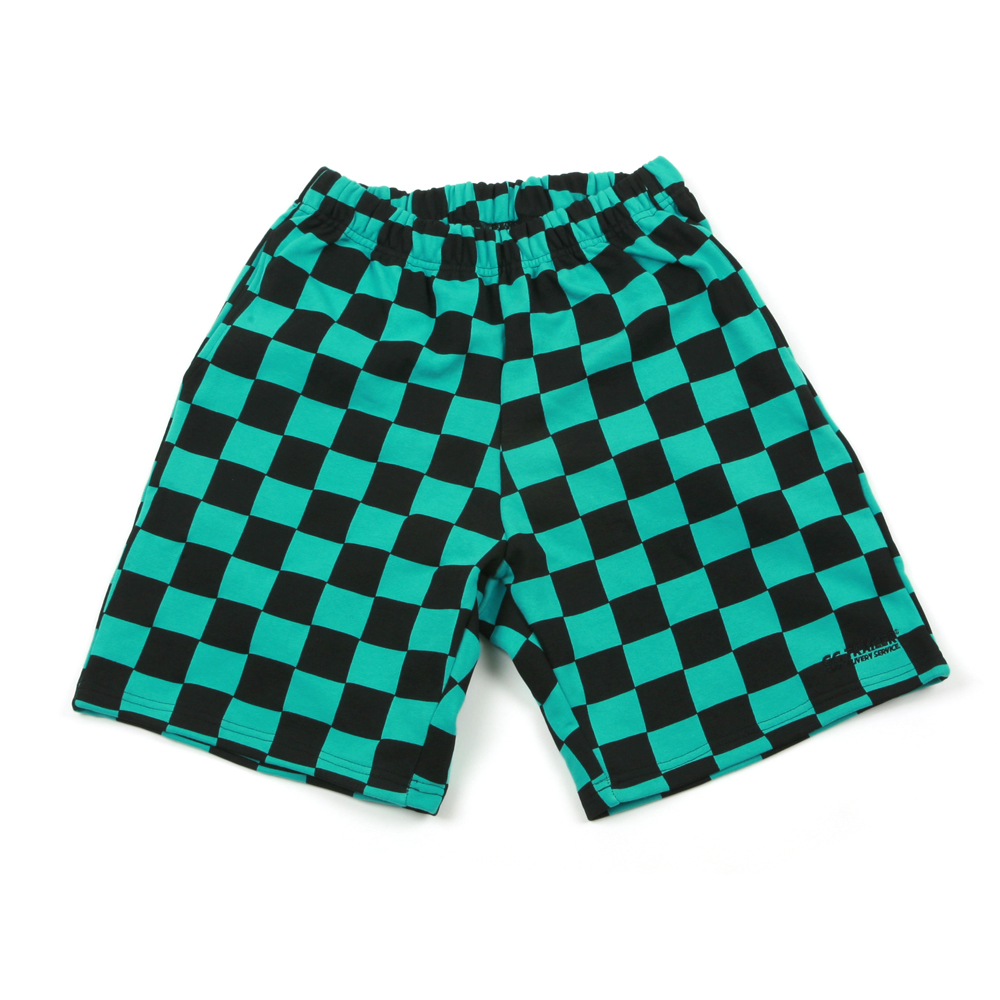 GG Trailer Checkerboard 1/2 Pants_Mint