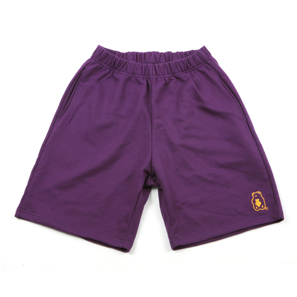Grapegummy 1/2 Pants_Purple