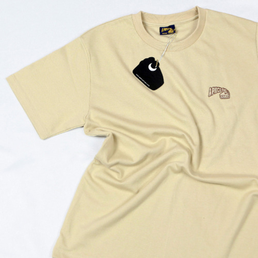 Basic Logo 1/2 T-shirts_Beige