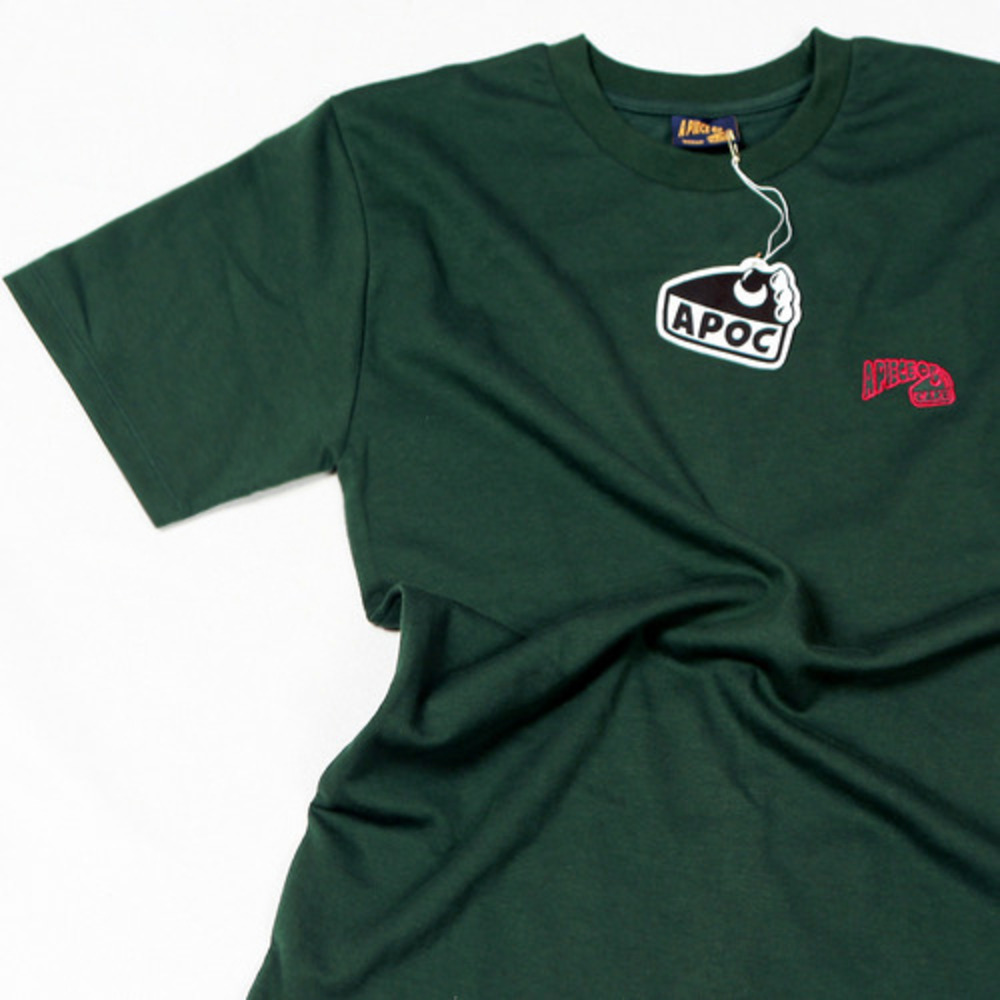 Basic Logo 1/2 T-shirts_Green
