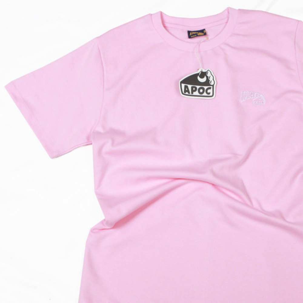 Basic Logo 1/2 T-shirts_Pink