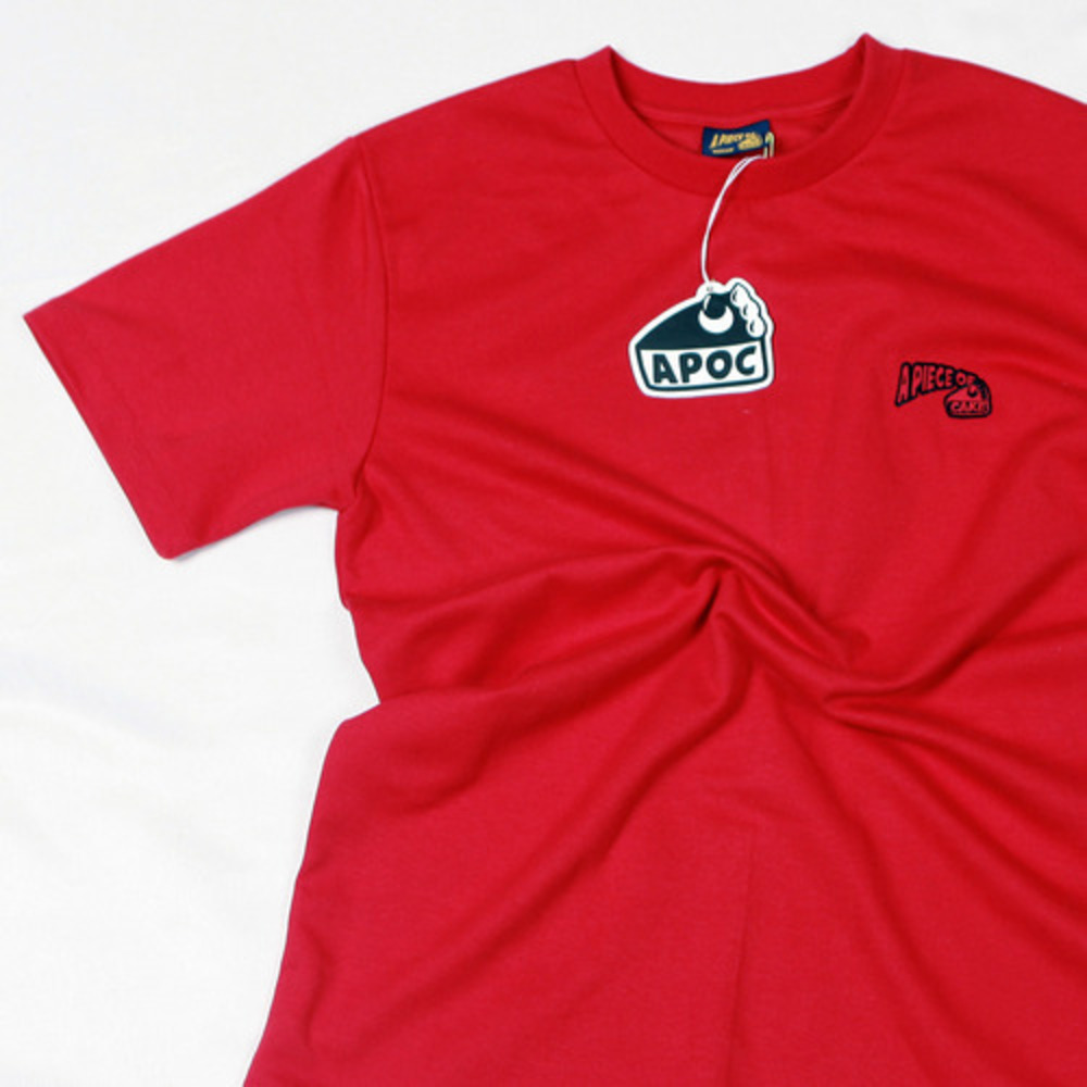 Basic Logo 1/2 T-shirts_Red