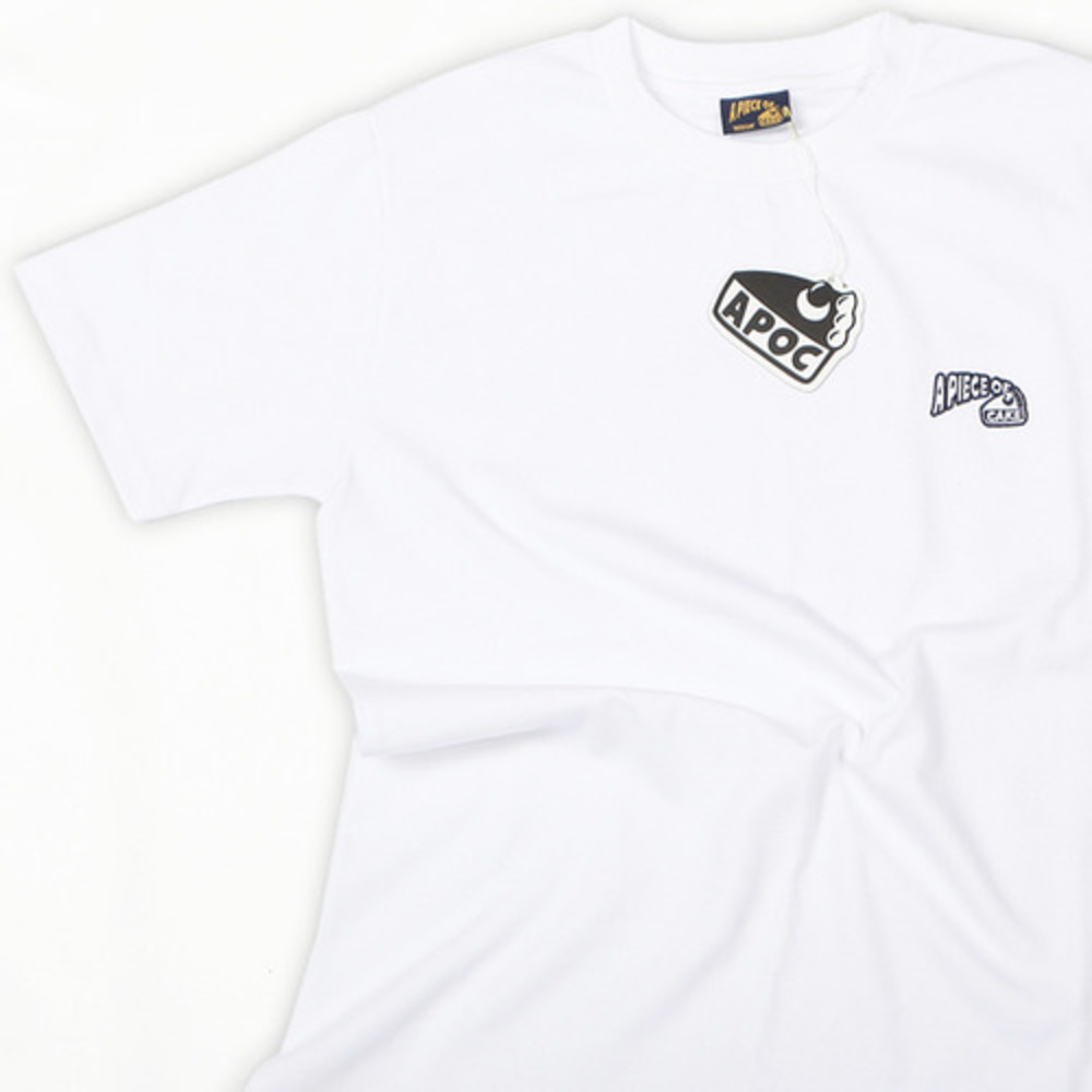 Basic Logo 1/2 T-shirts_White