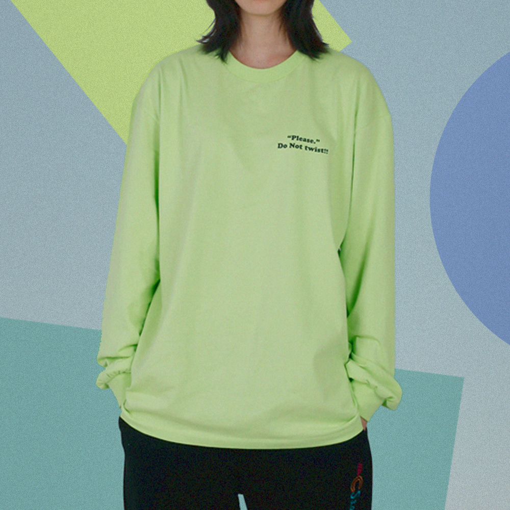 ACS3.0 Longsleeved T-shirts_Lime