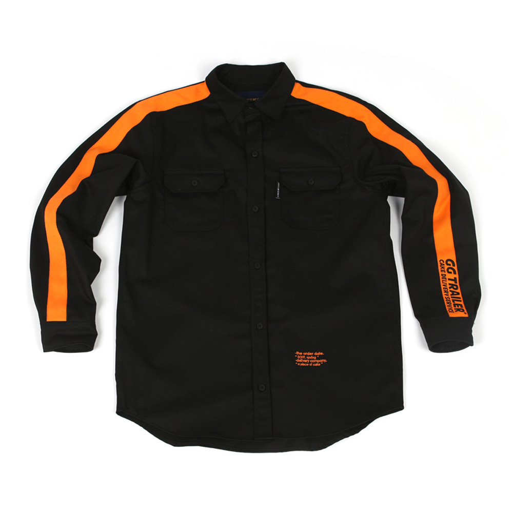 GG Trailer Work Shirt_Black