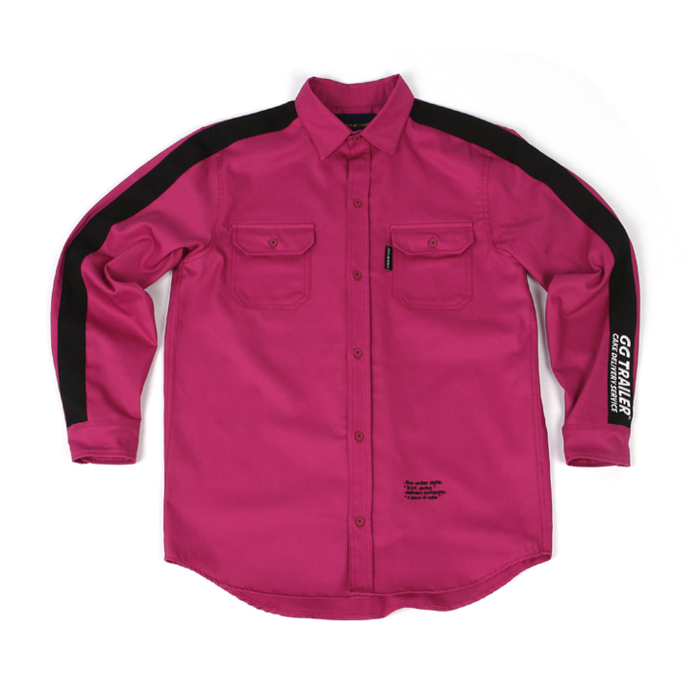 GG Trailer Work Shirt_Magenta