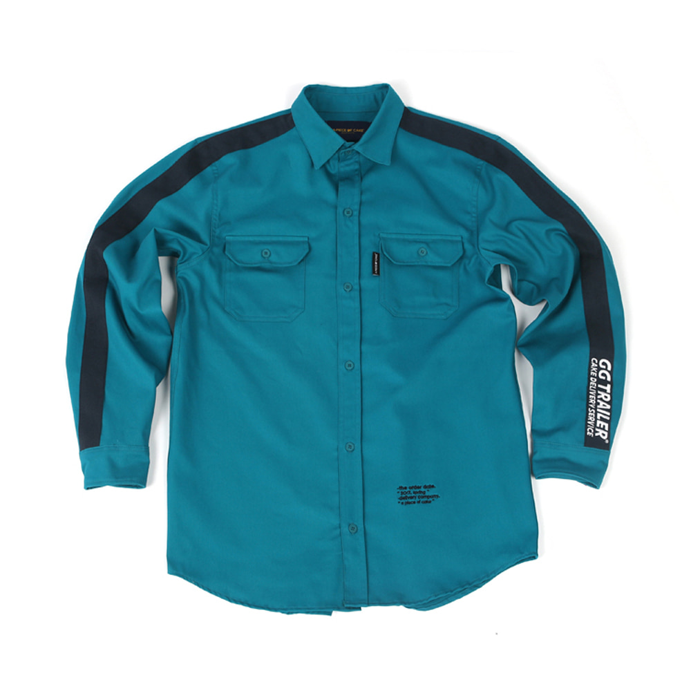 GG Trailer Work Shirt_Blue Green