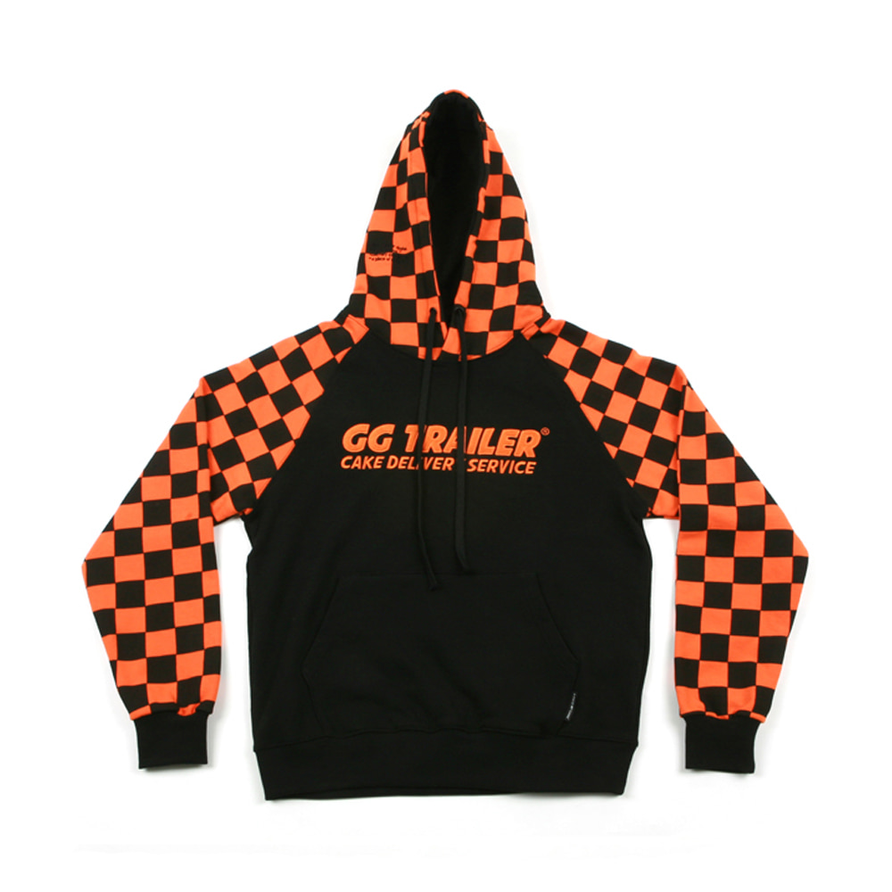 GG Trailer Checkerboard Hoodie_Orange