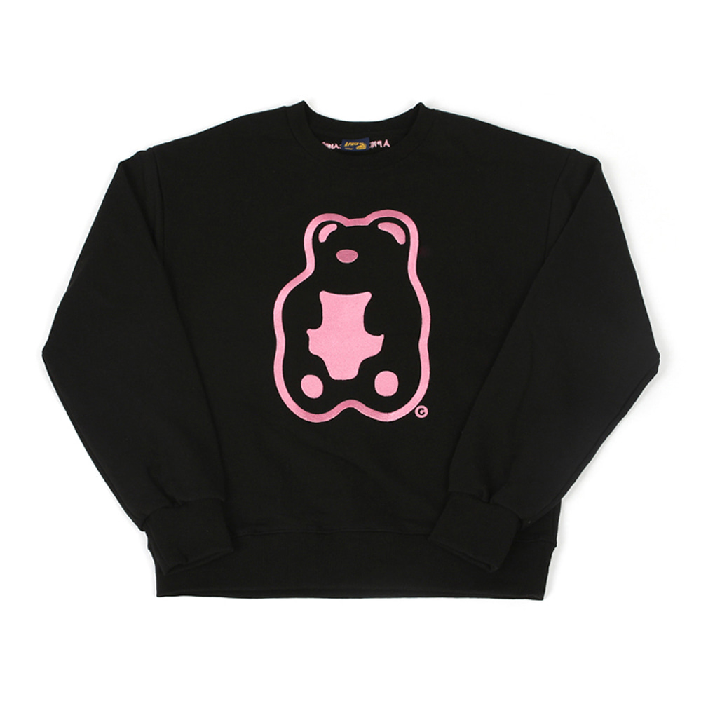 Grapegummy Crewneck_Black