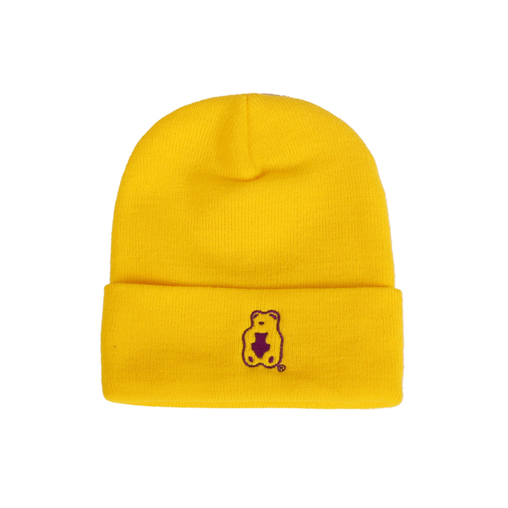 Grape Gummy Beanie_Yellow