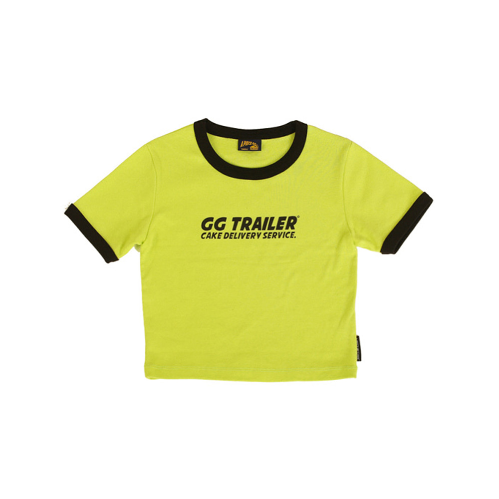 GG Trailer Crop Top_Light green