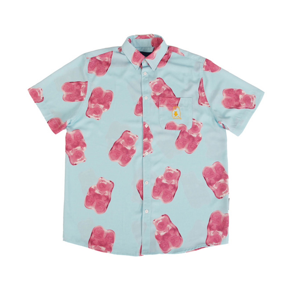 Grape Gummy Hawaiian Shirts_Blue