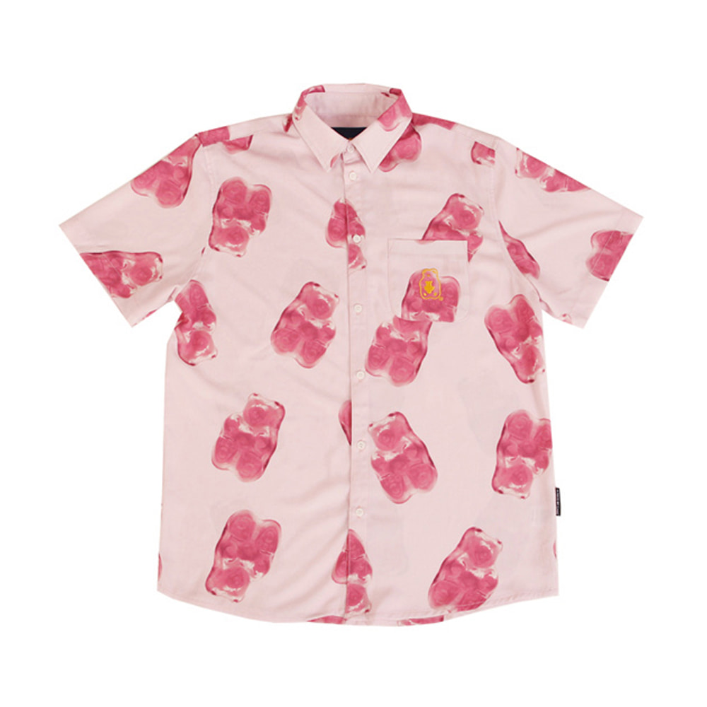 Grape Gummy Hawaiian Shirts_Pink