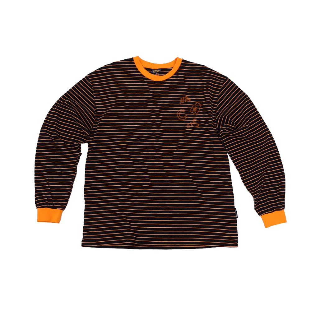 ACS3.0 Stripe Longsleeved T-shirts_Black