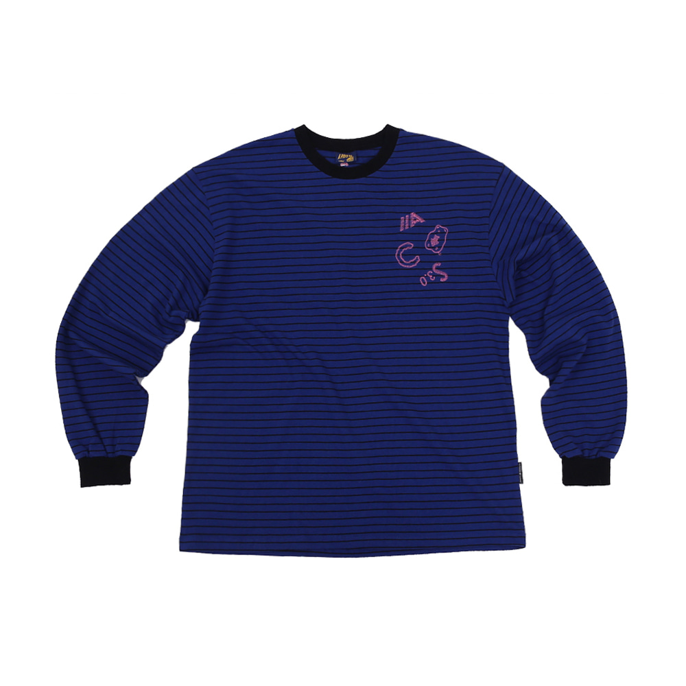 ACS3.0 Stripe Longsleeved T-shirts_Blue