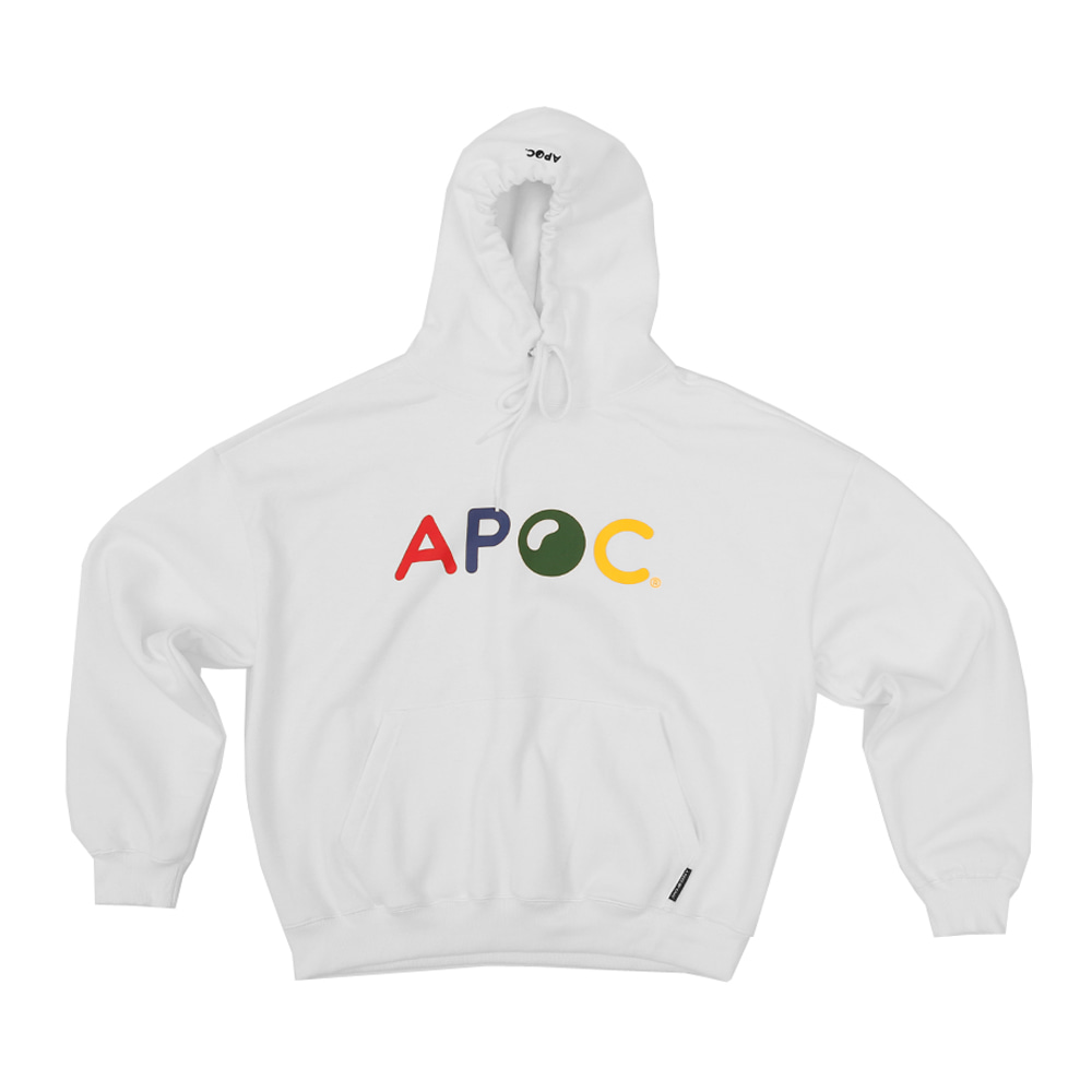 Multi Color Logo hoodie_Offwhite