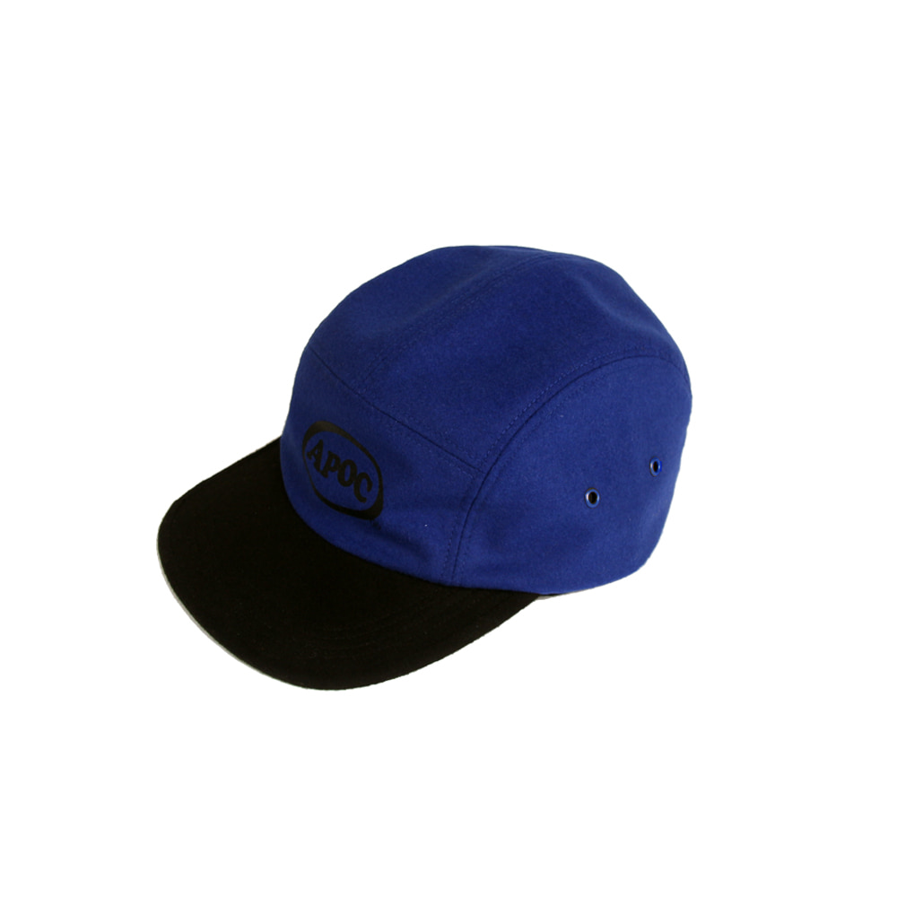 Oval Logo Camp Cap_Blue