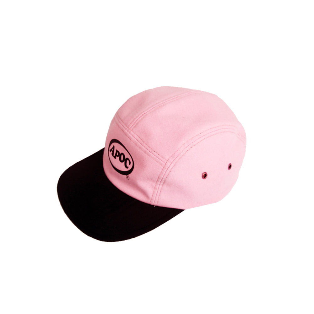 Oval Logo Camp Cap_Pink