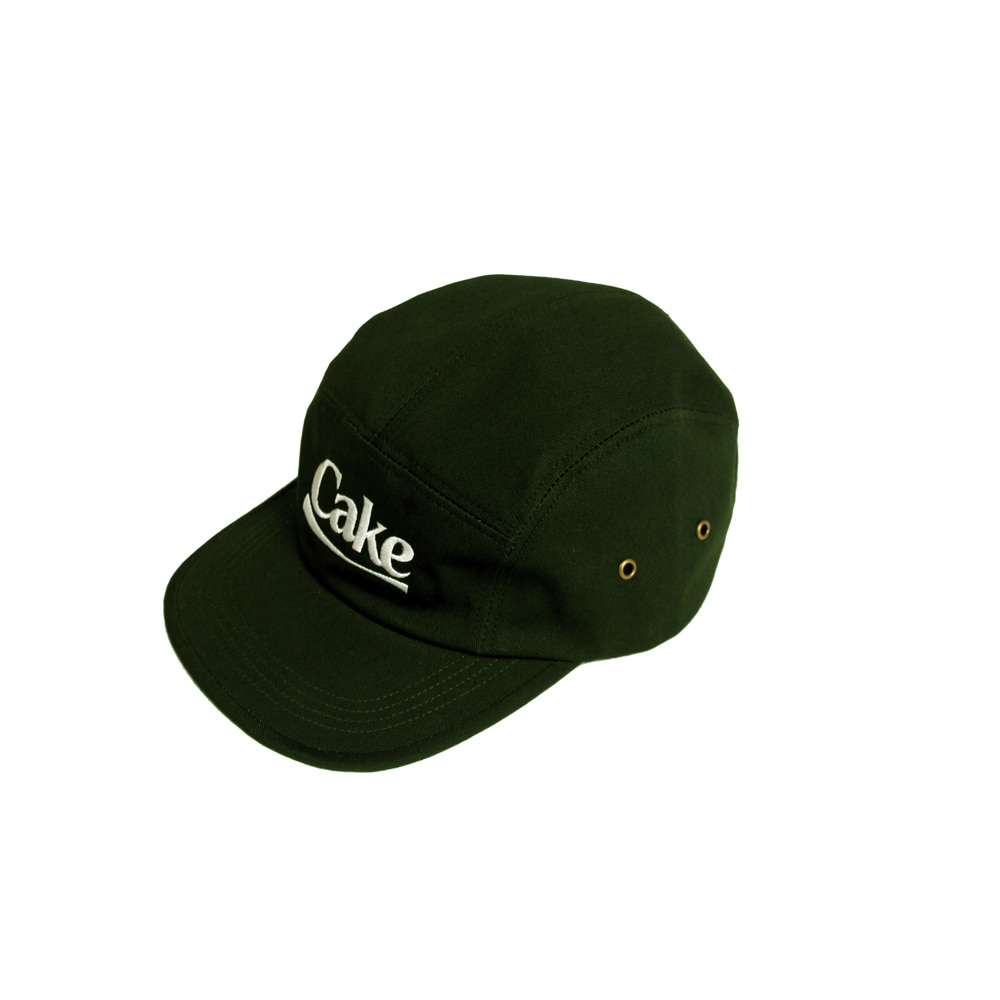 Cake Logo Camp Cap_Green