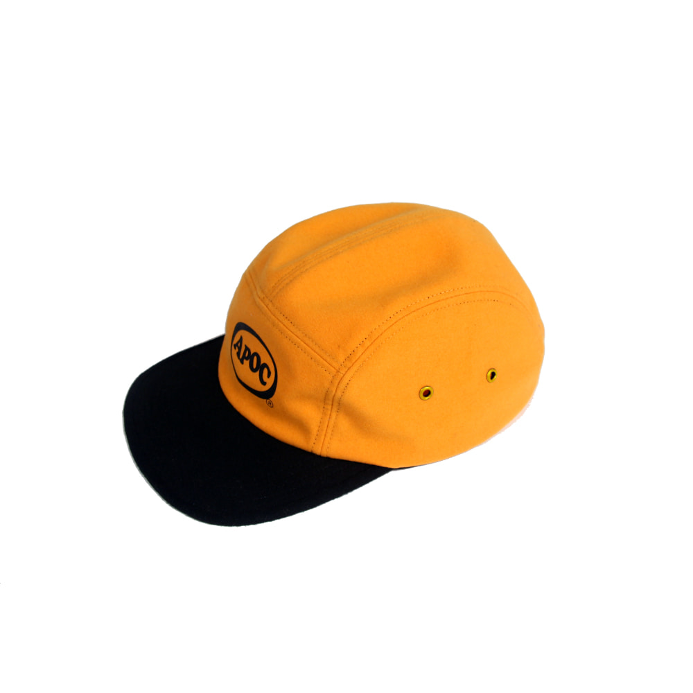 Oval Logo Camp Cap_Yellow