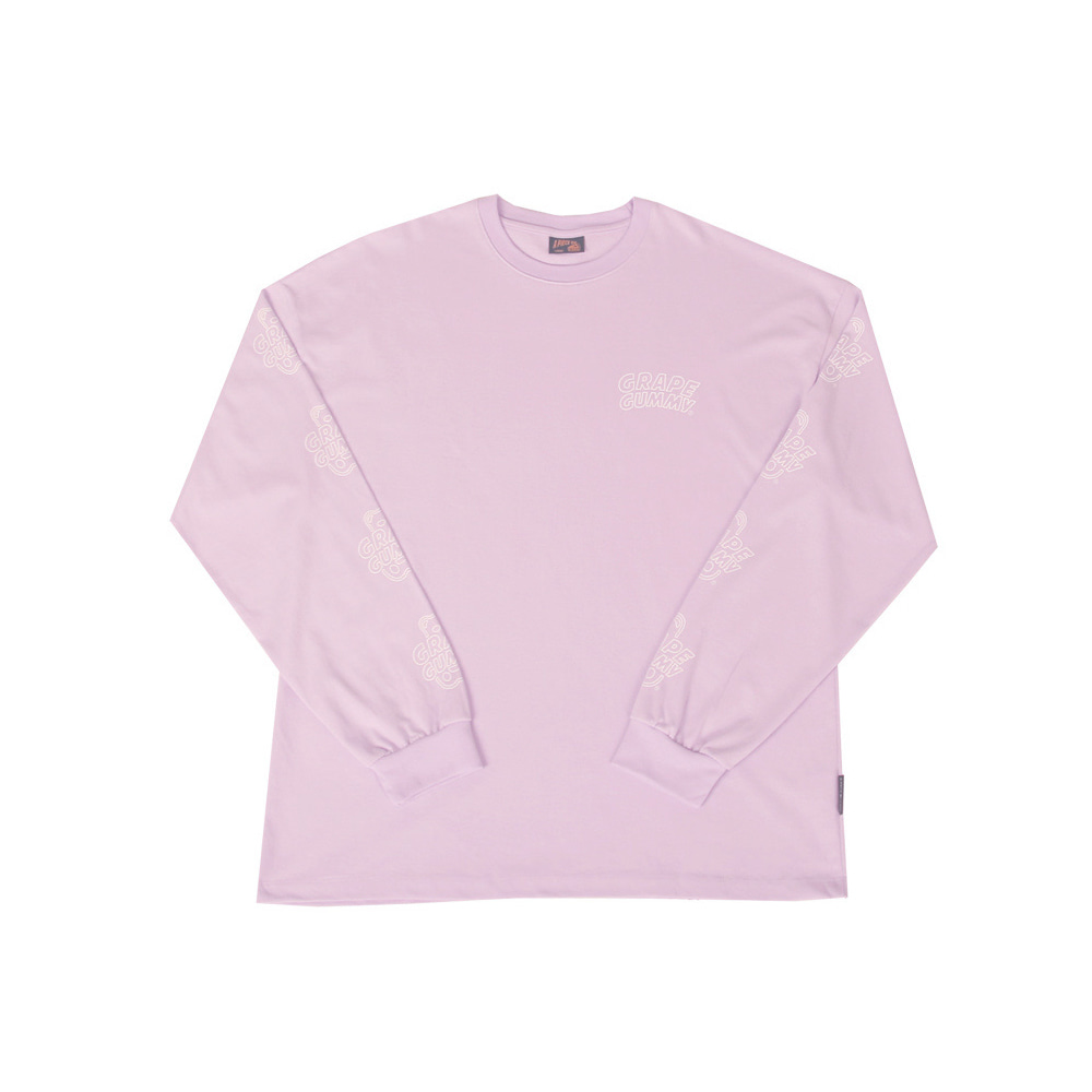 Grape Gummy Multi-Logo Longsleeve_Violet