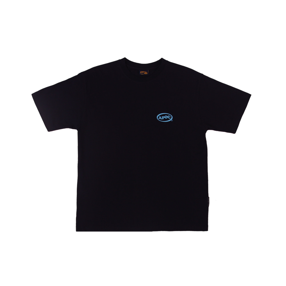Oval Logo 1/2 T-shirts_Navy