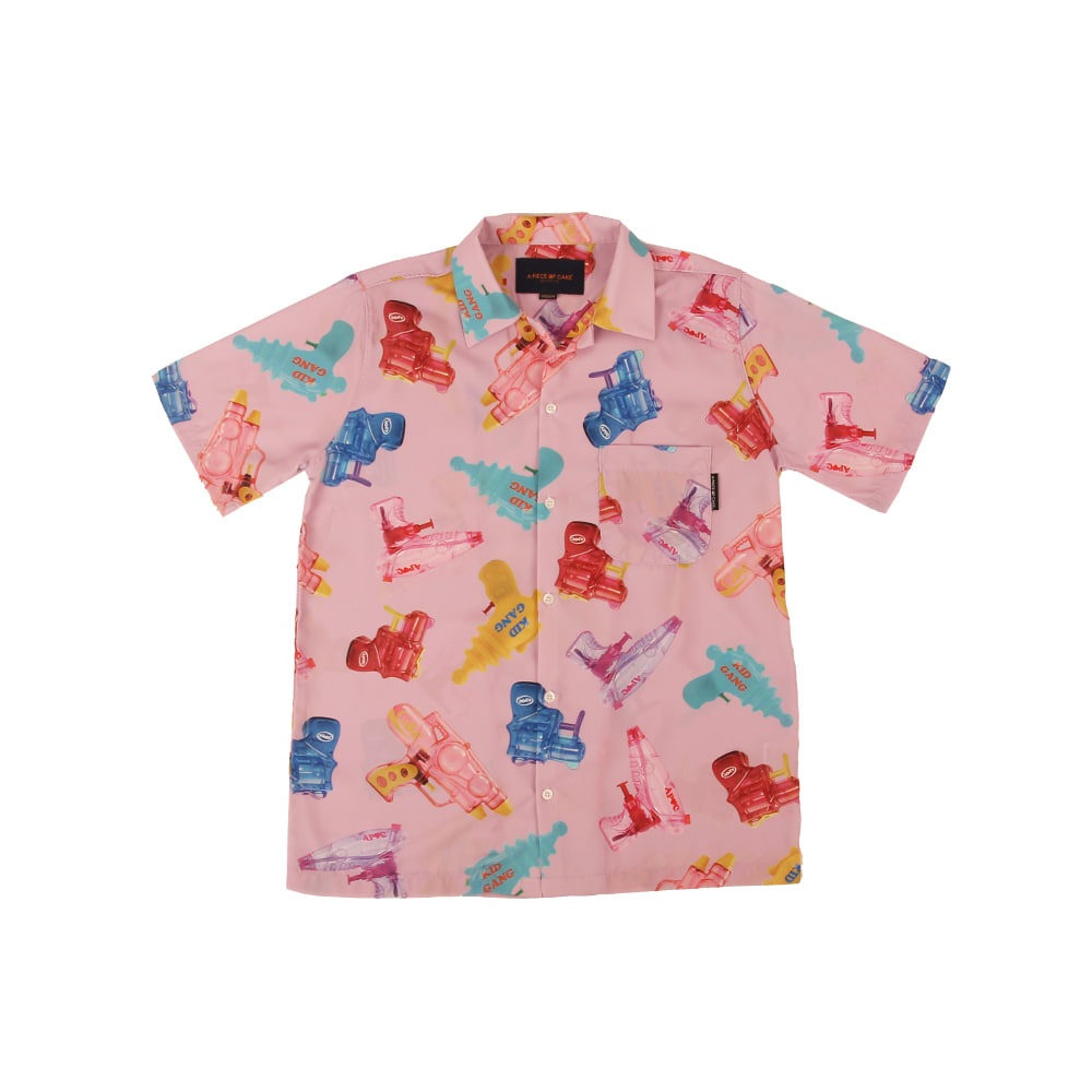 Watergun Hawaiian Shirts_Pink