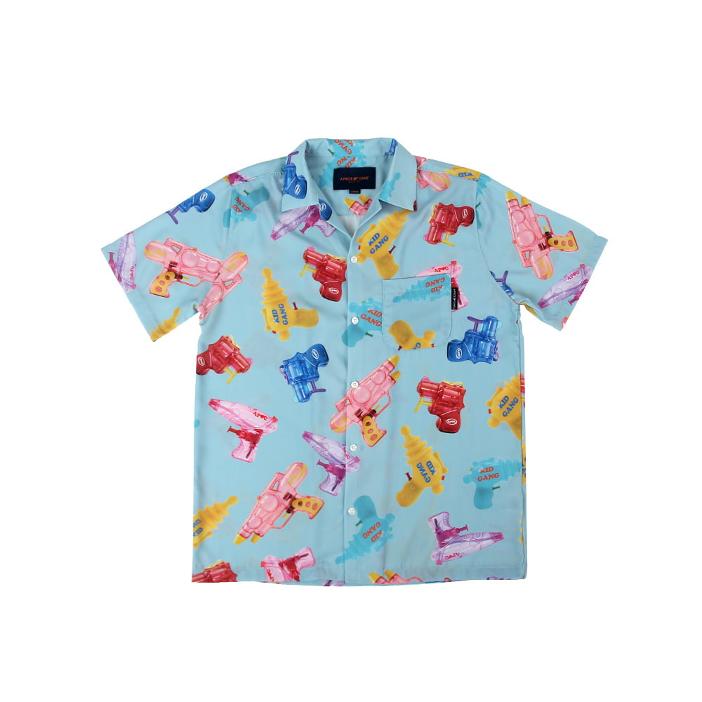 Watergun Hawaiian Shirts_Blue