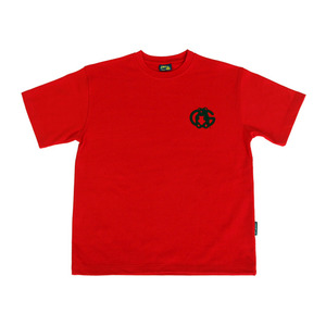 Grape Gummy 1/2 T-shirts_Red