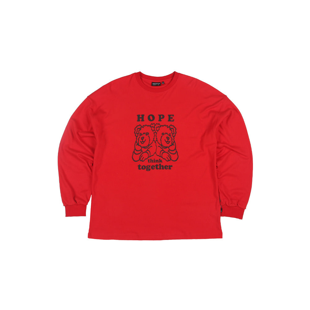 HTT Longsleeve_Red