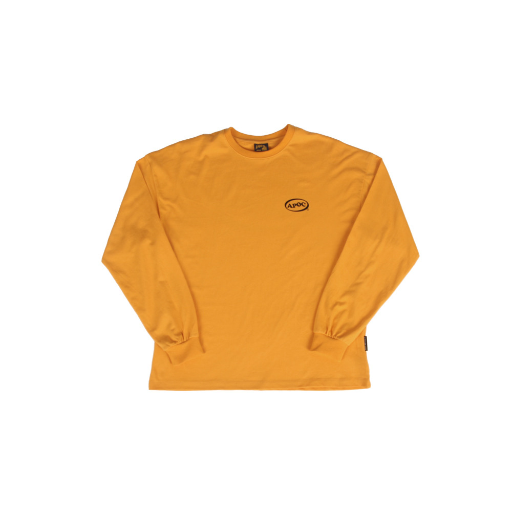 Oval Logo Longsleeved T-Shirts_Yellow