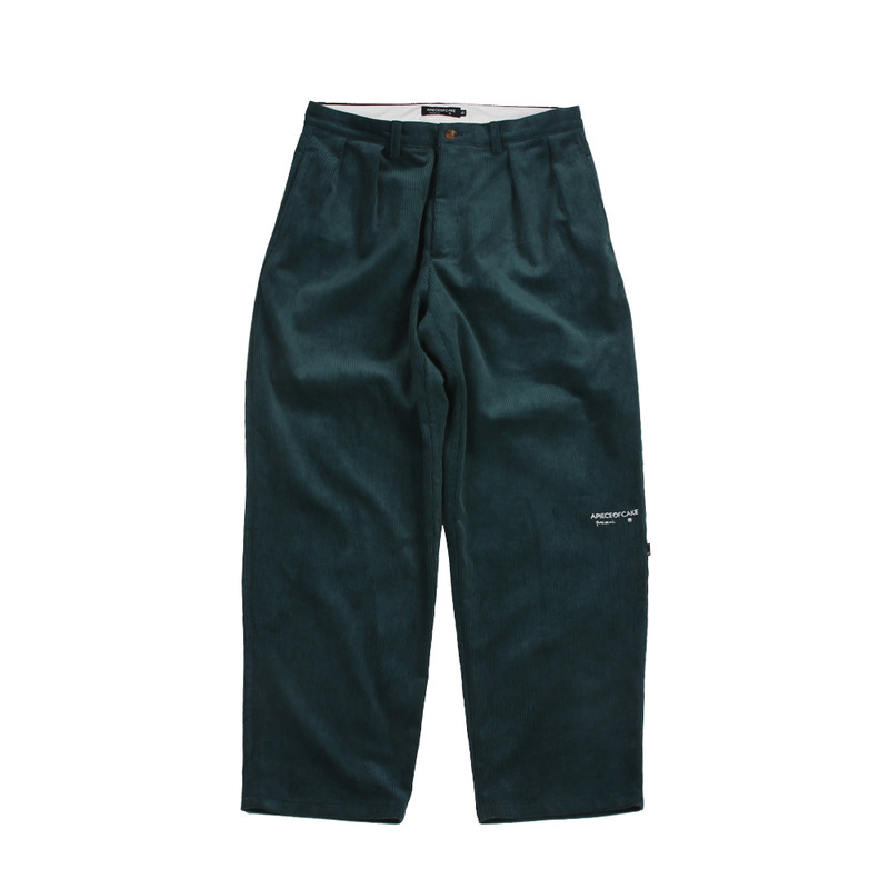 Classic Fit Corduroy Pants_Green