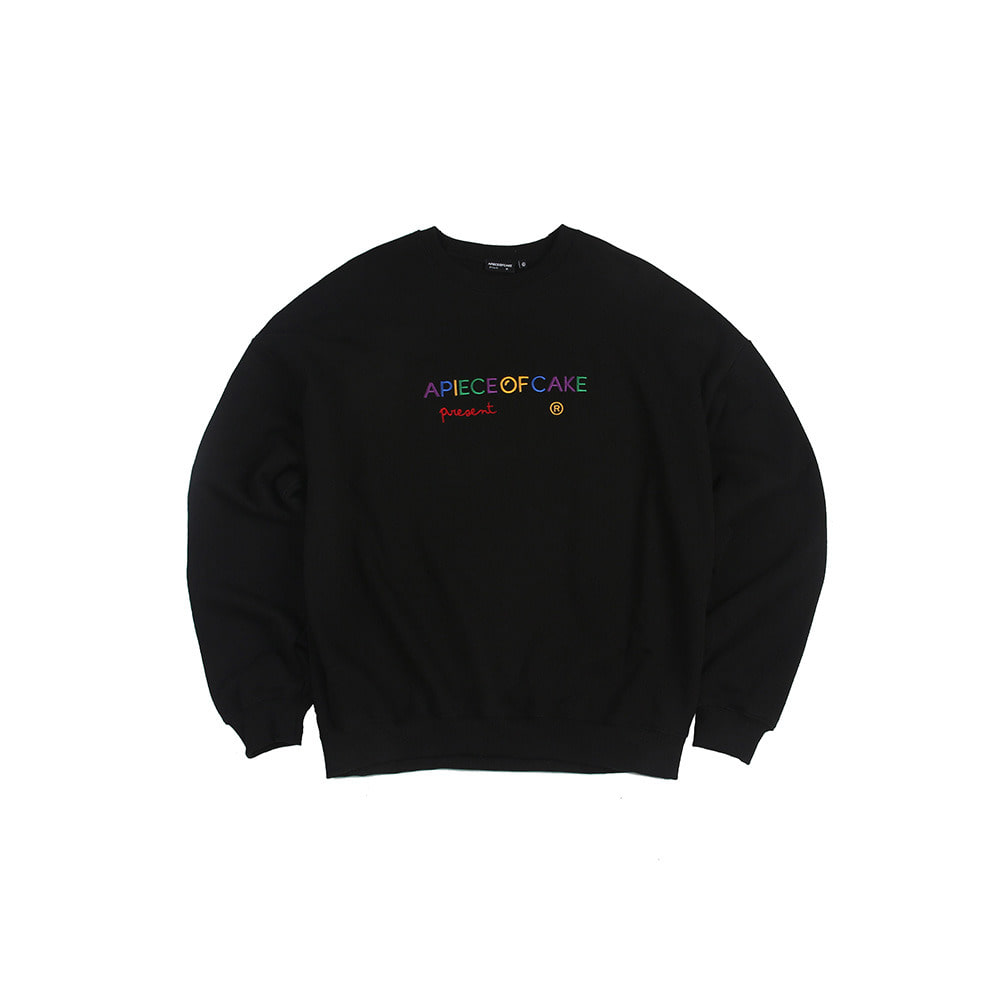 Multi Logo Crewneck_Black