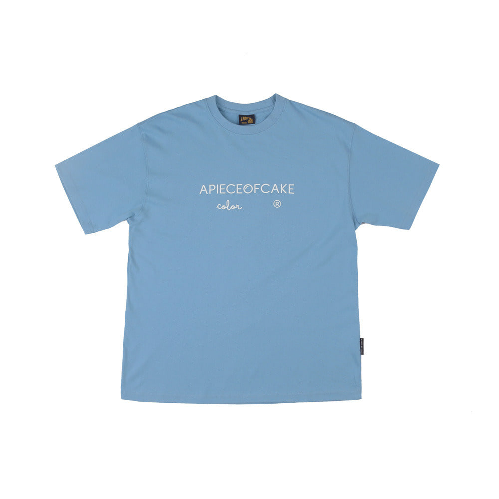 Basic Color 1/2 T-Shirts_Pastel Blue