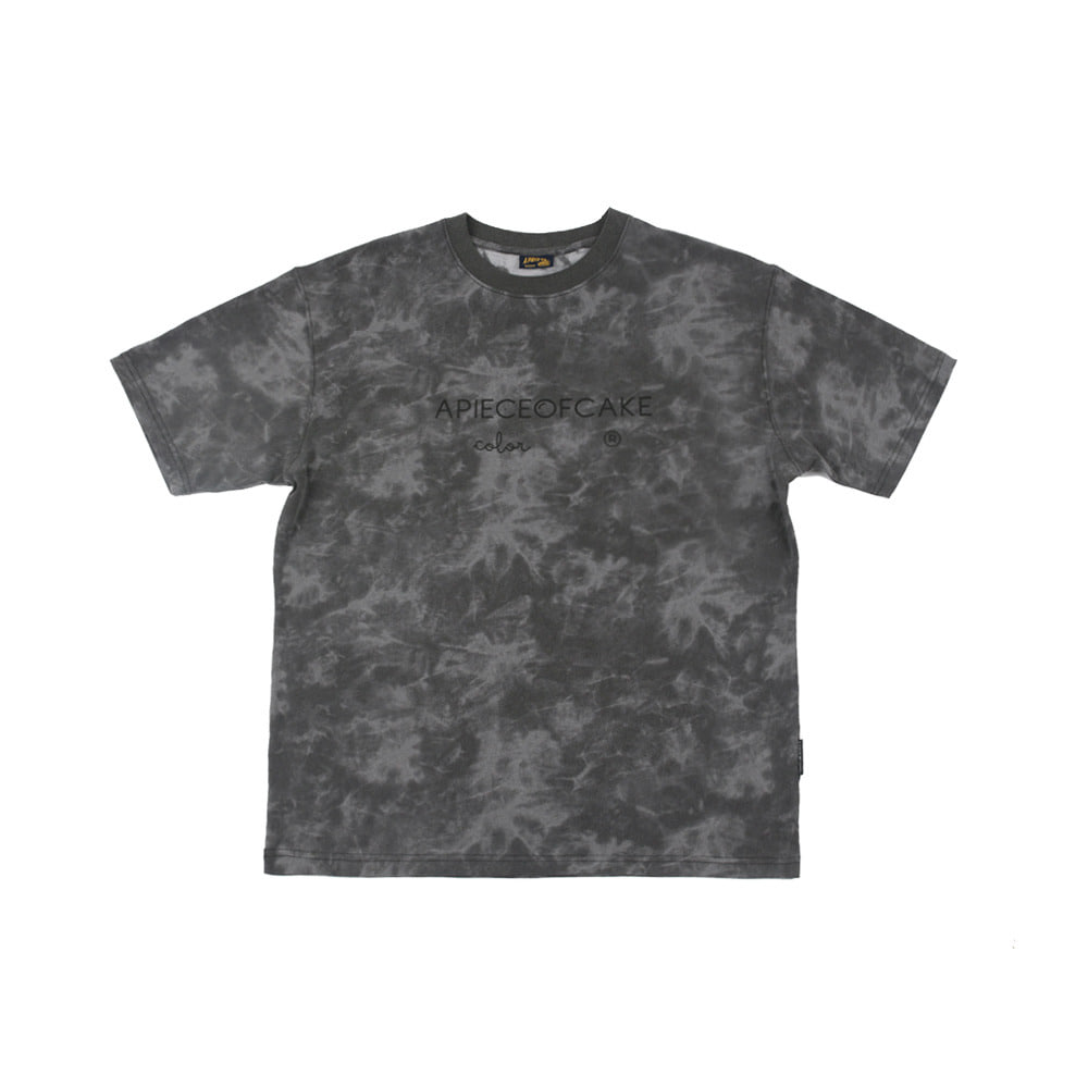 Basic Color 1/2 T-Shirts_Charcoal