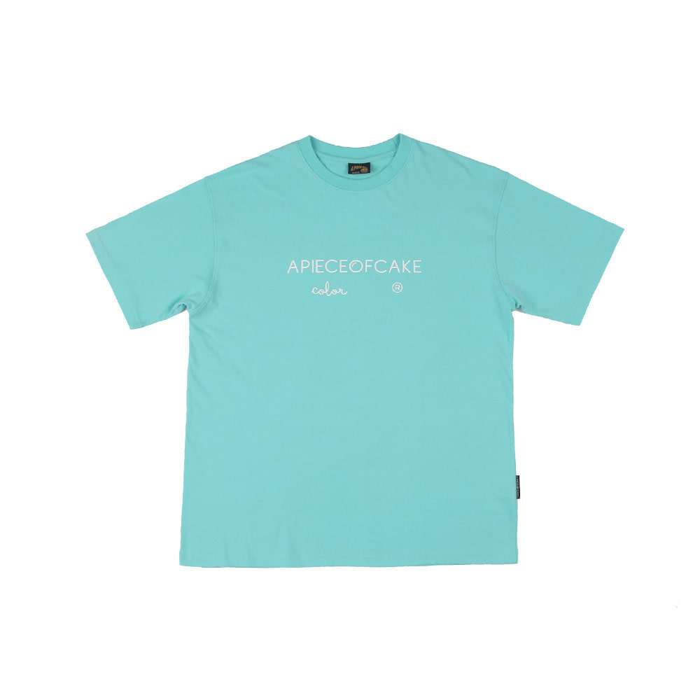 Basic Color 1/2 T-Shirts_Mint