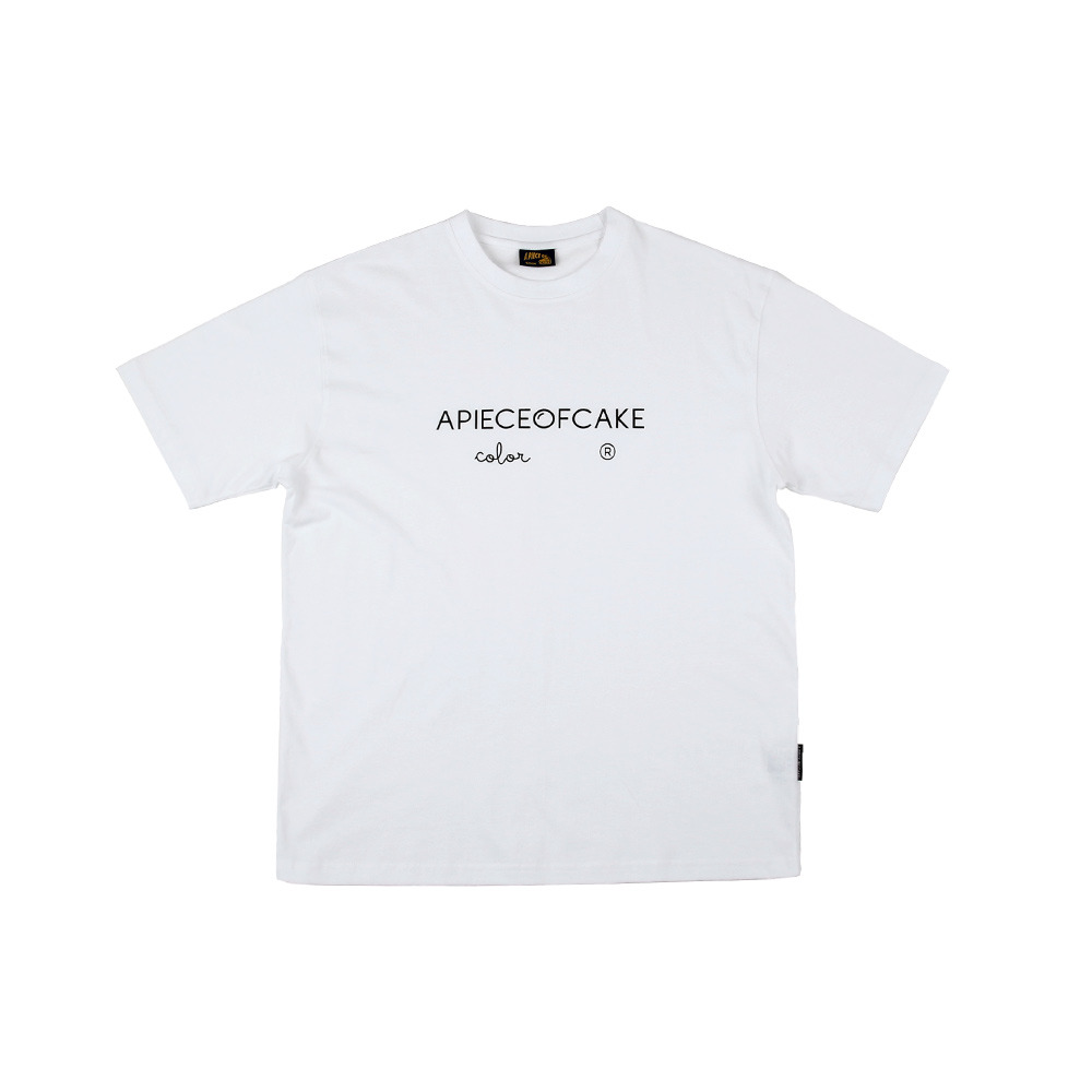 Basic Color 1/2 T-Shirts_White