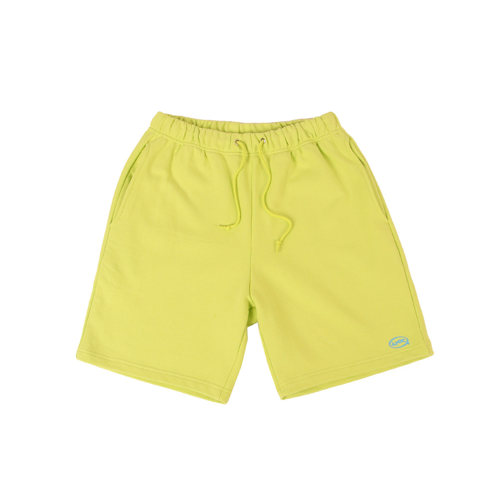 Oval Logo 1/2 Pants_Lime