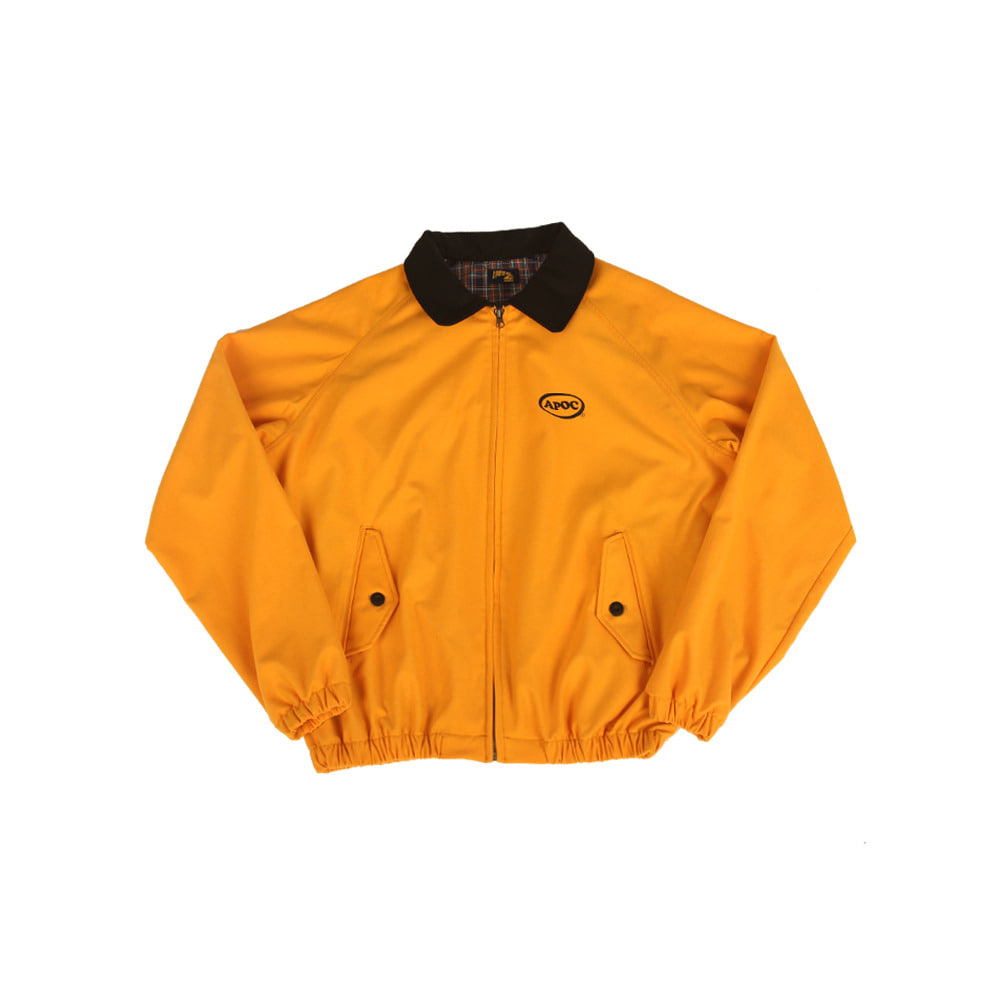 Oval Logo Blouson_Yellow