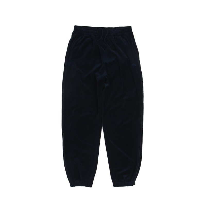 Velour Track Pants_Navy