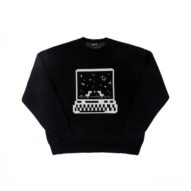 Connection Knit_Black