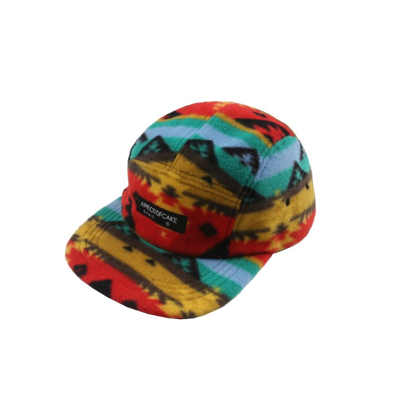 Fleece Camp Cap_Mountain Yellow