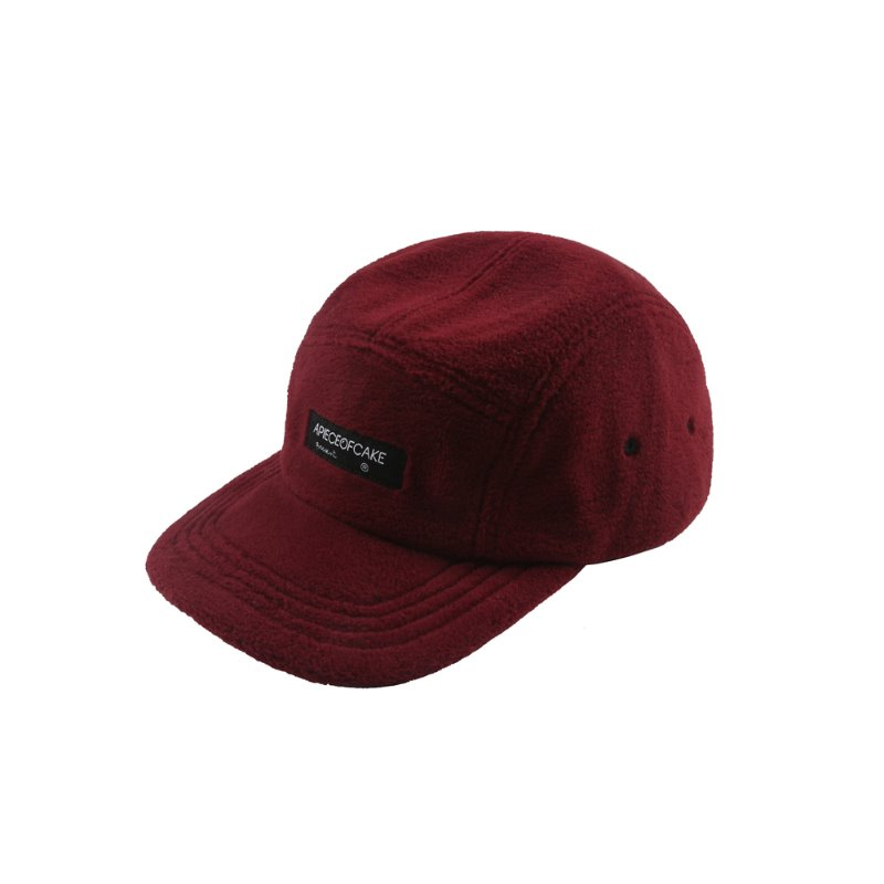 Fleece Camp Cap_Wine